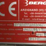 Bergi dedusting Spruzzo machine plate