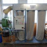 Bergi dedusting spruzzo buffing machine (4)