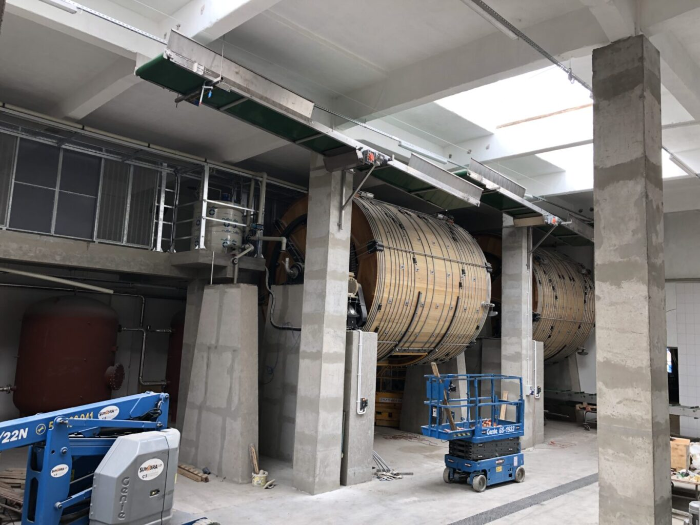 loading conveyors for soaking drums (1)