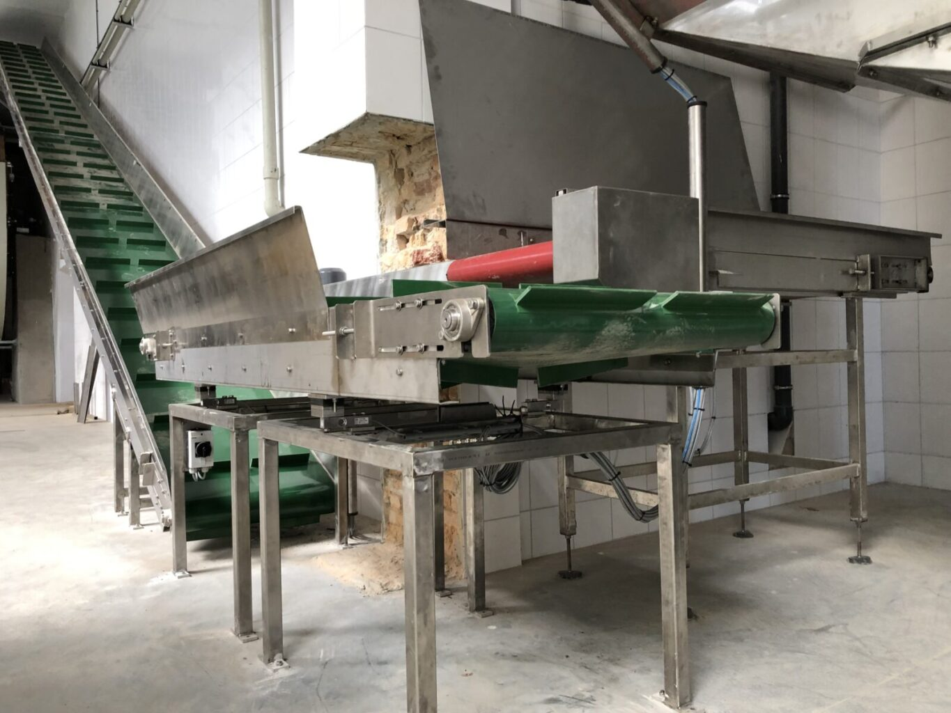 loading conveyors for soaking drums (6)